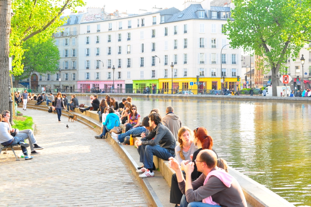 Canal Saint Martin Paris Parisbonjour.dk