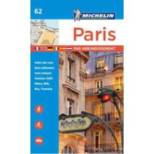 Paris kort bog