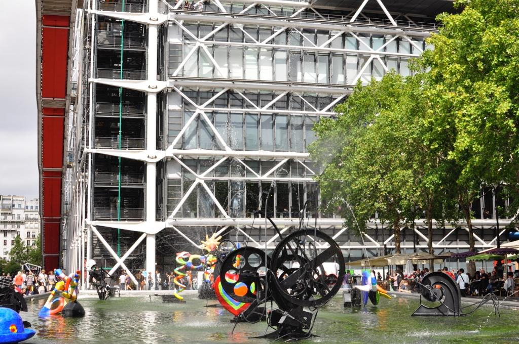 Pompidou centret i Paris - Parisbonjour.dk