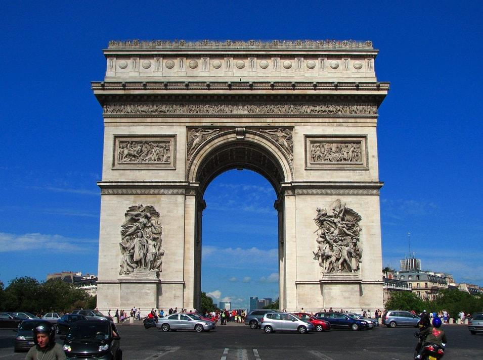 Triumfbuen Paris Parisbonjour.dk